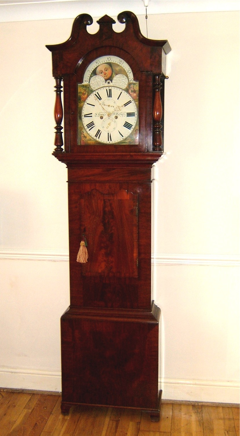 Dating longcase clock dials with roman 5